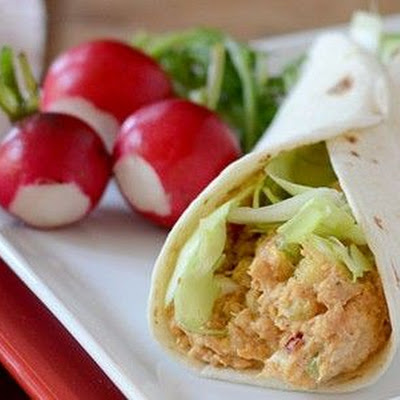Sriracha Tuna Salad Wrap
