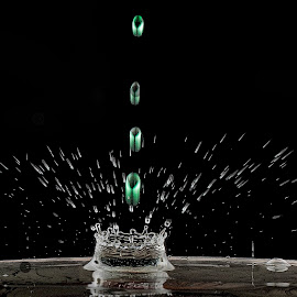by Pictures that Pop - Abstract Water Drops & Splashes