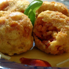 Marra's Fried Tomato and Mozzarella Arancini
