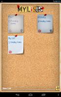 Screenshot of Shopping List - ListOn