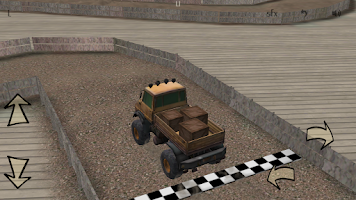 Screenshot of Truck Challenge 3D