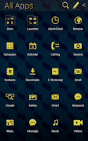 Screenshot of Cube Pattern Atom theme