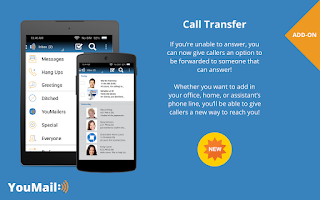 Screenshot of Visual Voicemail