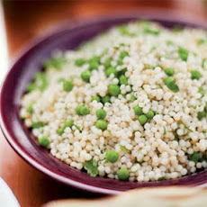 Israeli Couscous with Fresh Peas and Mint