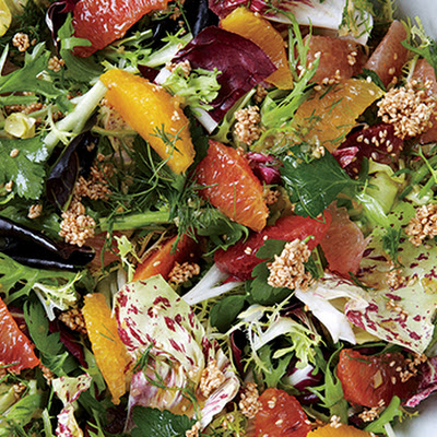 Citrus Salad with Fennel Vinaigrette