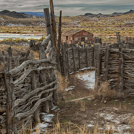 The old west Nevada style near the peacock opal mine by Brent Morris - Buildings & Architecture Other Exteriors