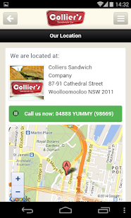 Colliers Sandwich Company - screenshot