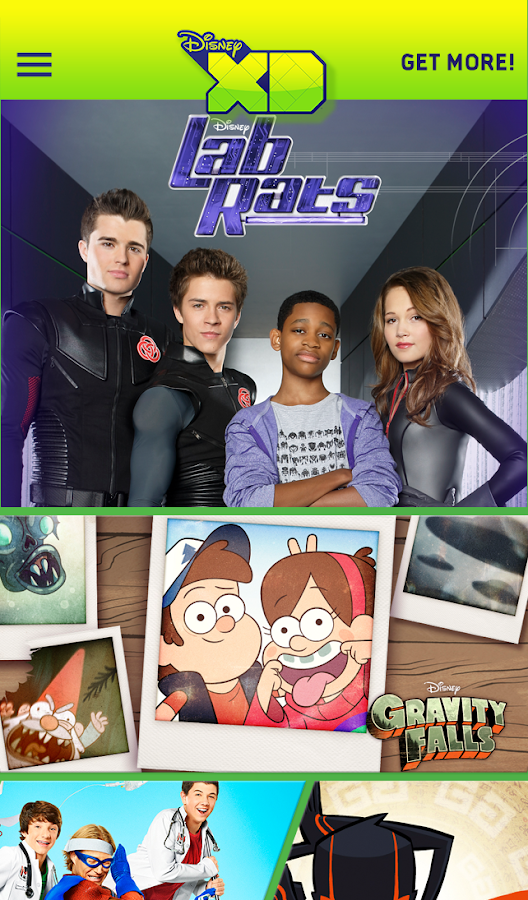Disney XD - Watch & Play! Screenshot