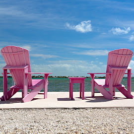 Take a rest, Key's style by Hali Sowle - Landscapes Travel ( fl, vacation, florida, canon 5dmiii, canon 16-35mm f/2.8l ii, Chair, Chairs, Sitting )