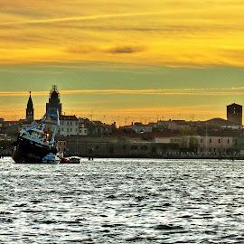 Chioggia by Marco Poli - City,  Street & Park  Vistas
