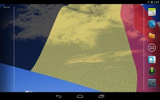 Screenshot of 3D Belgium Flag Live Wallpaper