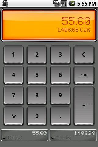 Euro Shopping Calculator