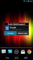 Screenshot of Sudo QuickLaunch