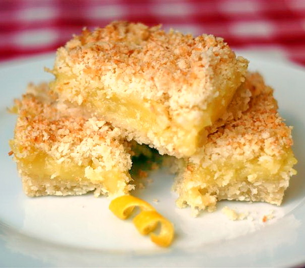 ... coconut crumble bars recipes dishmaps lime and coconut crumble bars