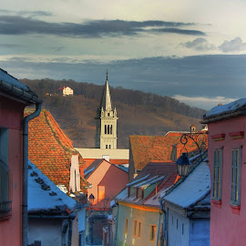 Sighisoara by Tipa Marius - City,  Street & Park  Historic Districts ( sighisoara )