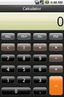 Screenshot of Calculator Free