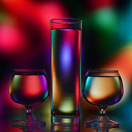 Glass n Hues by Rakesh Syal - Artistic Objects Glass