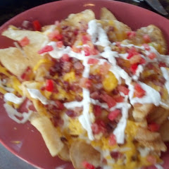 Gluten Free Loaded Chips - freshly made potato chips