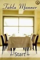Screenshot of Table Manner