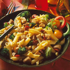 Citrus-Cherry Pork & Pasta Salad