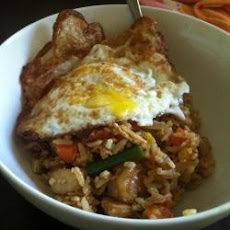 Indonesian Stir-Fried Rice - Nasi Goreng