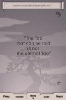 Screenshot of Tao Quotes