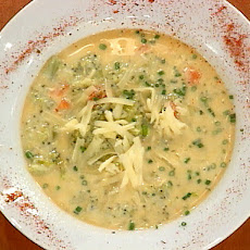 Emeril's Broccoli and Gruyere Soup