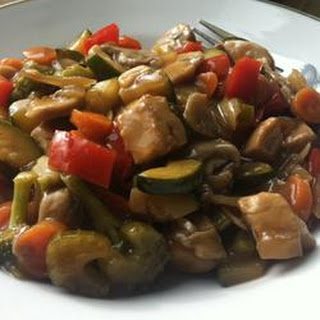 Stir-Fried Vegetables with Chicken or Pork
