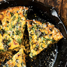 Swiss Chard & Onion Frittata