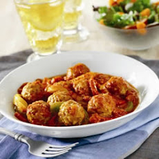 Italian Meatballs and Peppers