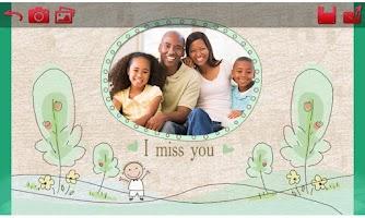 Screenshot of I Miss You Cards: Love