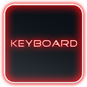Glow Legacy Red Keyboard Skin icon