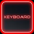 Glow Legacy Red Keyboard Skin icon