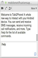 Screenshot of Chrome ↔ SMS Texting FREE