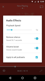 Pocket Casts Screenshot