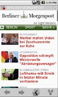 Screenshot of Deutsche Zeitungen & Magazine