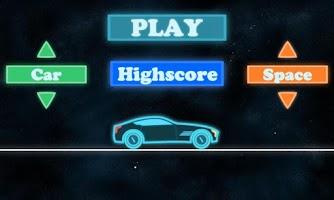 Screenshot of Neon Race - Hill Climb