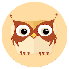 Flaty Owlie (flat wallpaper)