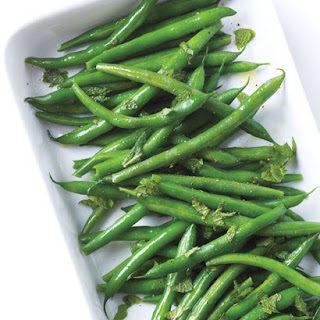 Green Beans with Lime and Mint