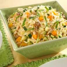 Orzo & Vegetable Pilaf
