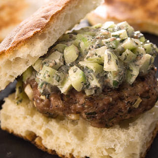 Middle Eastern Lamb Burgers