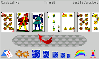 Screenshot of Accordion Solitaire Pro