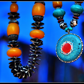 Bead Necklaces by Prasanta Das - Artistic Objects Clothing & Accessories ( colorful, beads, necklaces )