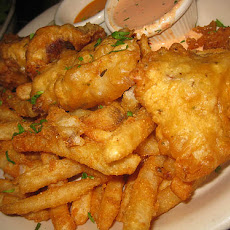 Beer Batter for Fish, Shrimp & Onion Rings