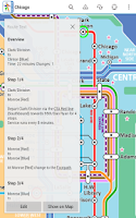Screenshot of Chicago Metro by Zuti