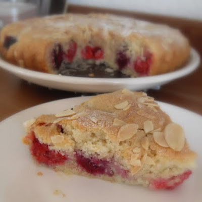 Autumn Berry & Almond Cake