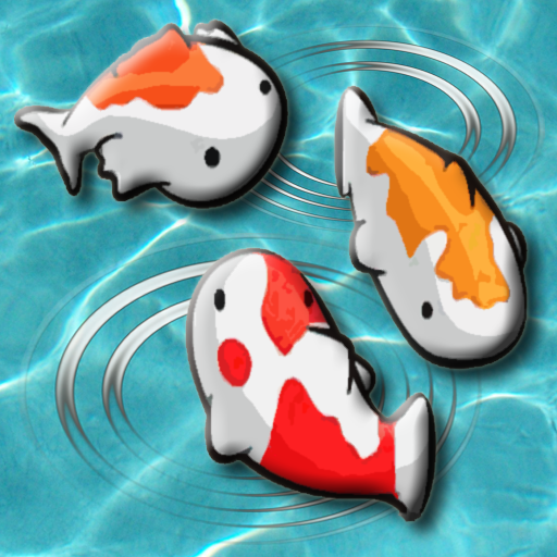 Feed the Koi fish Kids Game