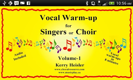Vocal Warmups Singers or Choir - screenshot
