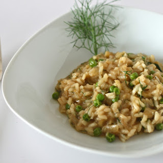 Caramelized Fennel Risotto