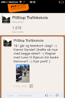Screenshot of Pitstop Trafikkskole